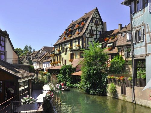 Old Town of Colmar near carathotel Basel Weil am Rhein