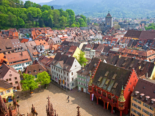Day Trip from carathotel Basel: Old Town of Freiburg