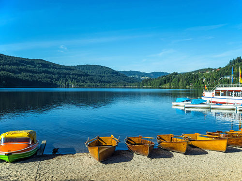 Getaway destination near carathotel Basel: Titisee in the Black Forest
