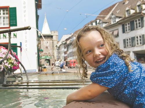 City Tour Basel with kids