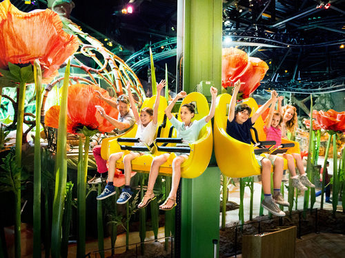Day Trip for family with kids from carathotel Basel: Europa Park