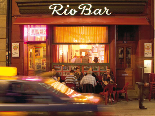 Nightlife in Basel: Rio Bar in the old town