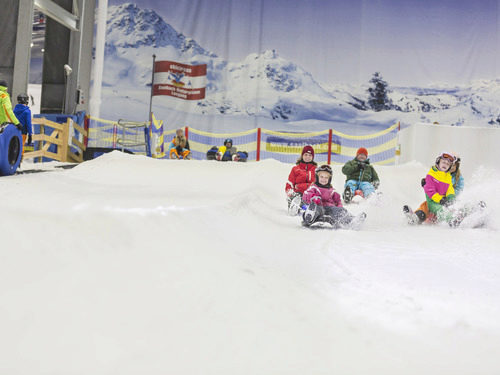 Sleigh riding all year round at Skihalle Neuss
