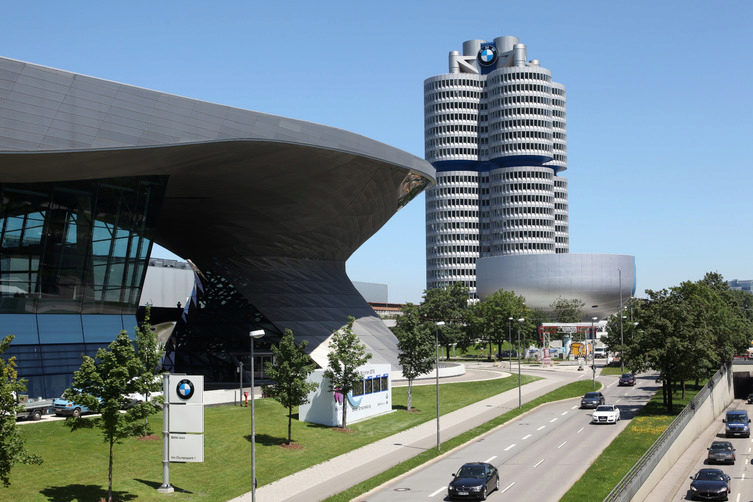 BMW World and BMW Museum in Munich